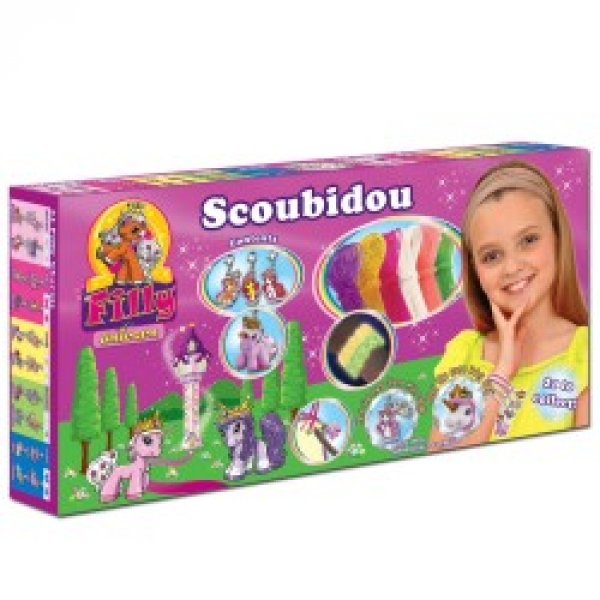 Filly Scoubidou Bänder Box Set