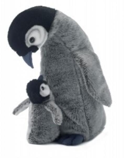 WWF Pinguinmama 30 cm mit Baby